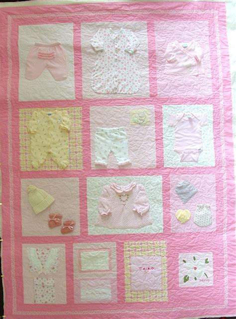 quilt pattern with baby clothes 25 best ideas about baby memory quilt on pinterest baby