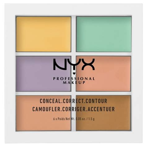 Nyx Corrector Palette nyx professional makeup color correct palette conceal