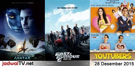 jadwal film natal 2015 jadwal film dan sepakbola 28 desember 2015 jadwal tv