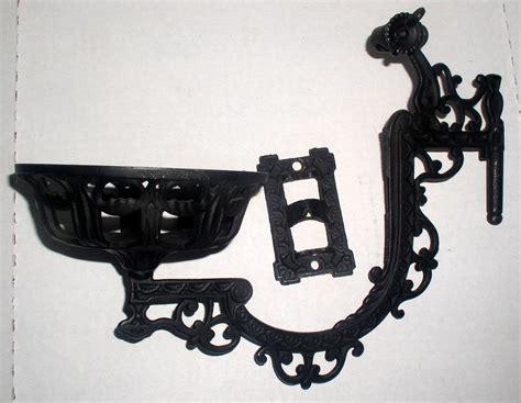 cast iron wall bracket antique cast iron wall mount kerosene oil l bracket