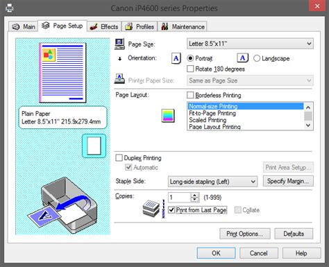 landscape orientation quickbooks how to print pages in reverse order on any printer from