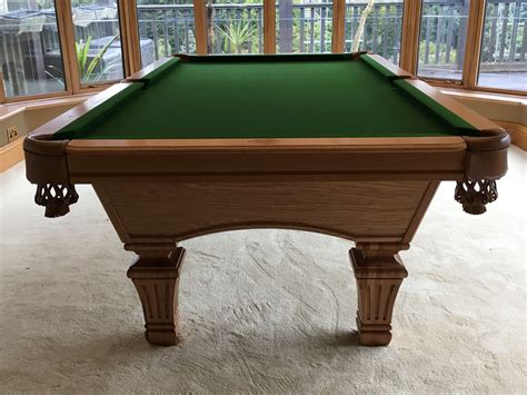 olhausen pool table legs olhausen augusta pool table with franklin leg