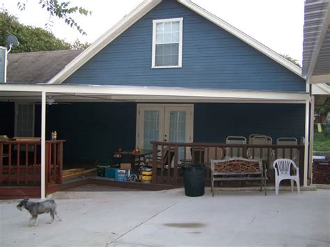 aluminum carport awnings metal patio covers cost lambert diy customer picture