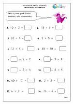 division maths worksheets for year 3 age 7 8
