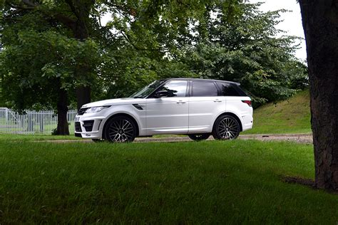 white wrapped range rover range rover sport wrapped in gloss white reforma uk