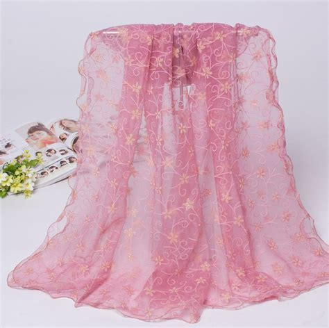 wholesale floral lace scarf china scarf