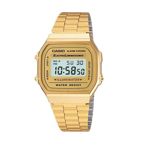 Jam Tangan Gold jual casio original jam tangan wanita terbaru v005avg