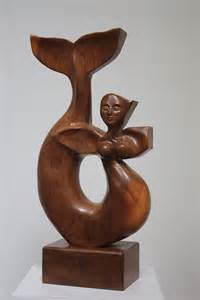 decorative sculptures contemporary wood sculptures decorative walnut