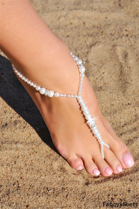 how to make footless sandals barefoot sandals beaded barefoot sandals wedding