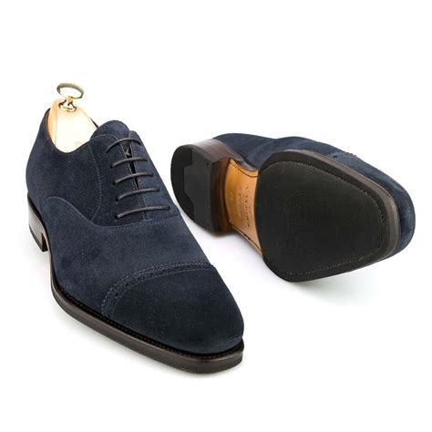 suede oxford shoes womens captoe oxford in navy suede
