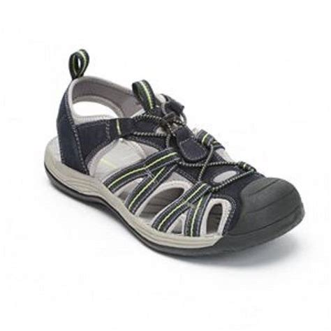 and barrow sandals mens barrow navy blue leather sports sandals shoes