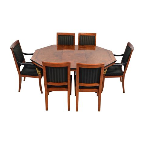 81 vintage dining table set with gold accent 99 second dining room set dining room bedroom