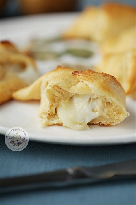 appetizers crescent roll crescent roll appetizers with two cheeses travis