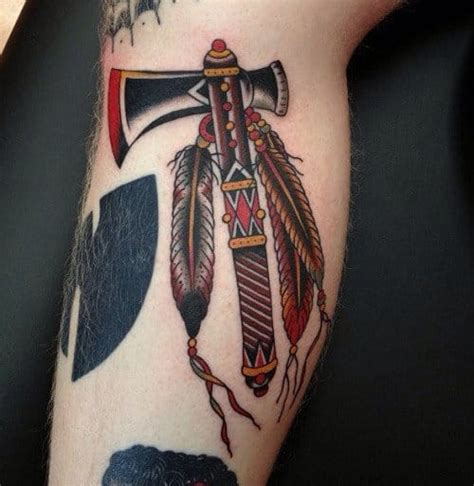 hatchet tattoo designs 18 deadly tomahawk tattoos tattoodo