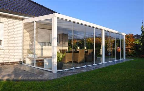 veranda terrazzo vetro le verande in vetro architetture trasparenti finestre