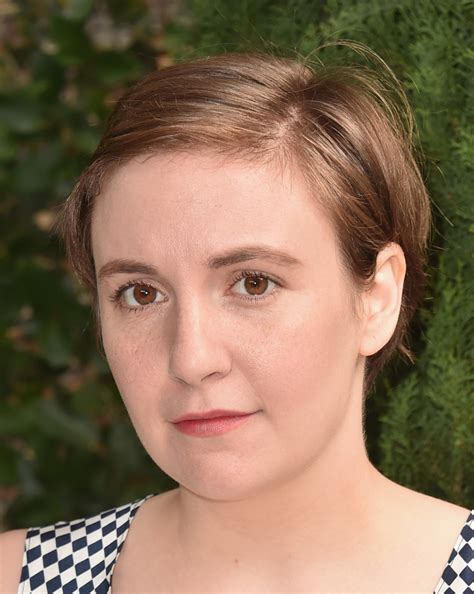 lena dunham short hair lena dunham short hair lena dunham short side part lena