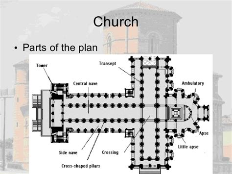 romanesque church floor plan romanesque architecture