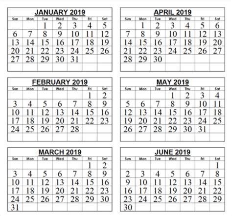 template month calendar print calendar