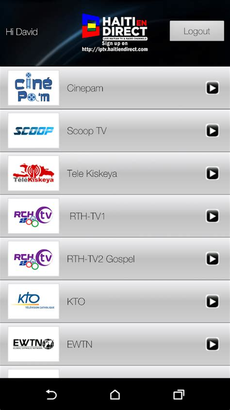 direct tv apk haiti en direct tv android apps on play