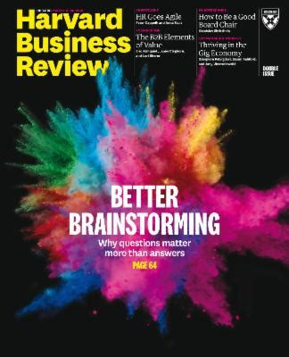 Diy Harvard Mba by Harvard Business Review Usa March April 2018 187 Your Free