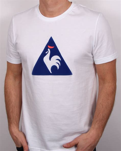Kaos Le Coq Sportt Shirt le coq sportif essentiels logo t shirt white s cotton