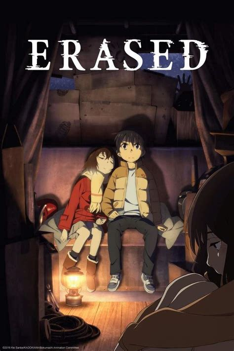erased anime voice actors erased anime review the anime store