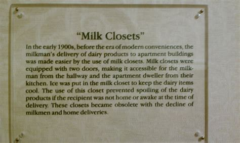 Milk Closet by Weekend In Kansas City Zanshin Net