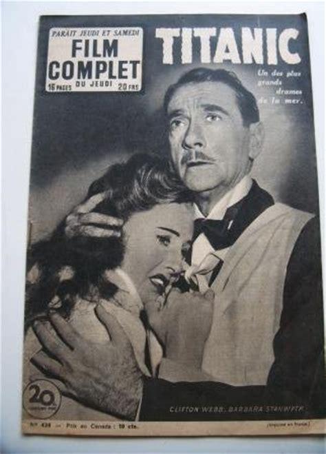 film titanic clifton webb 1954 magazine barbara stanwyck clifton webb titanic