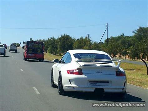 porsche johannesburg porsche 911 gt3 spotted in johannesburg south africa on