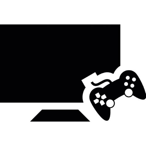 Gaming License Background Check Gaming Console And Television Monitor Icons Free