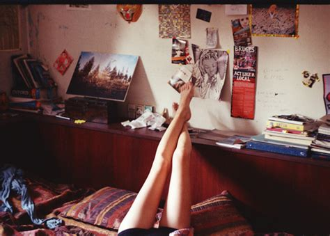 hipster girl bedroom bed bedroom collage cute girl hipster indie legs photography