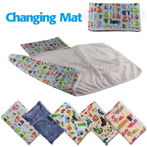 Baby Mat by Baby Portable Foldable Washable Compact Travel Nappy