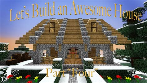fancy minecraft houses hardcore minecraft building a house and making it fancy part 4 youtube