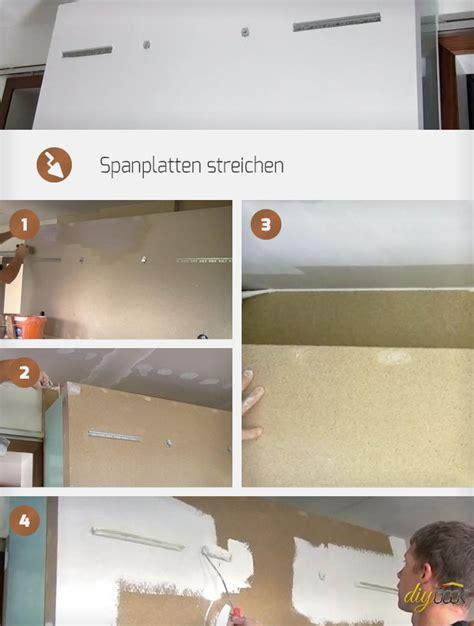 Hochglanz Lackieren Anleitung by Spanplatten Streichen Anleitung Und Tipps Diybook At