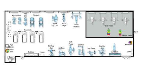 layout weight final layout of new weight room at mid plains cc mccook ne
