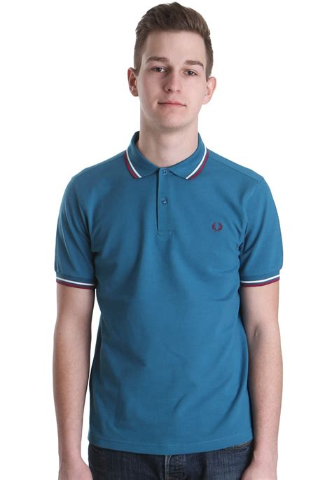 fred perry twin tipped fred perry inky blue girl polo fred perry slim fit twin tipped enamel blue polo