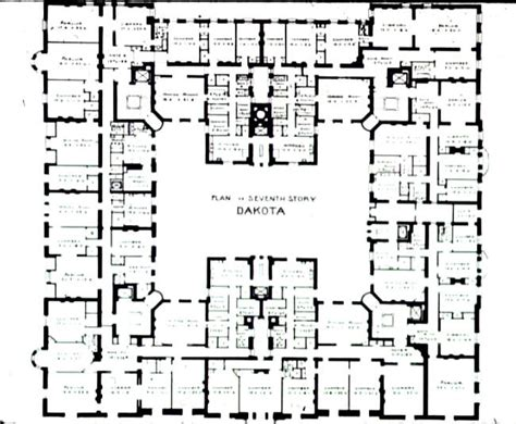 the dakota floor plan notes on lecture 9