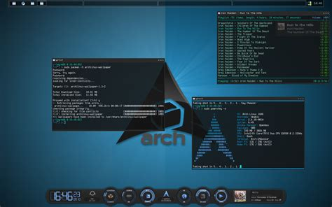 gnome wm themes how to install and configure arch linux step by step