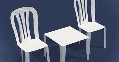 Papercraft Chair - table chairs papercraft papercraft paradise