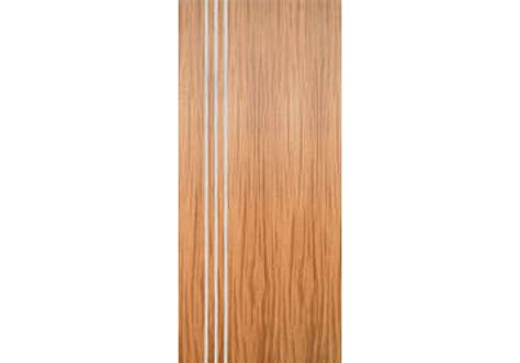 French Doors Size - amqsa3v mahogany flush door with 3 modern 1 4 quot aluminum strips inlaid hinge side 1 3 4 quot
