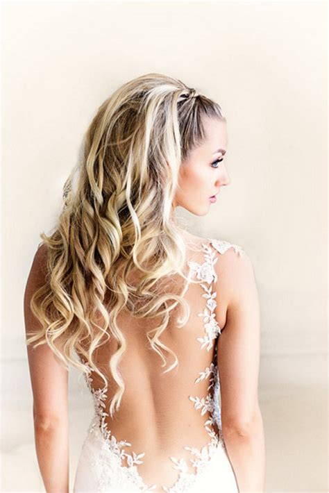 wedding hairstyles cascading curls 10 hairstyles for a destination wedding