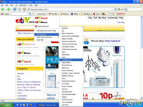 ebay uk my ebay download free ebay toolbar foxtion uk ebay toolbar