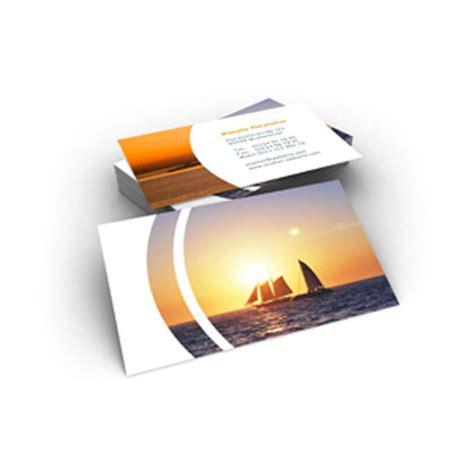 Fotos Drucken Online Express by Private Visitenkarte Mit Segelschiffen Vor Untergehender