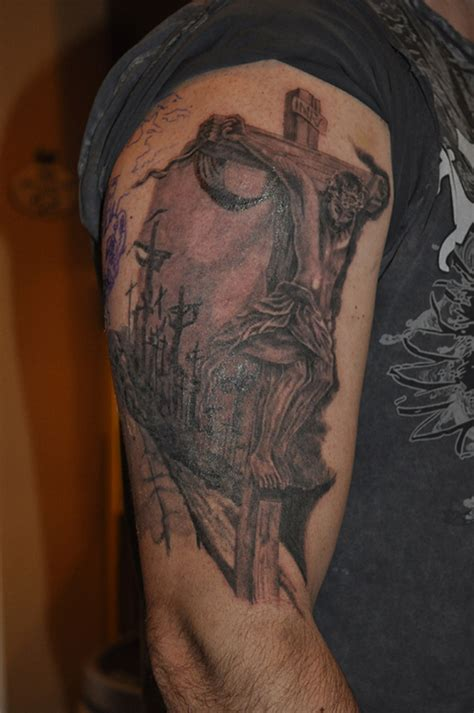 tattoo jesus piece working on a great jesus piece tattoo picture at