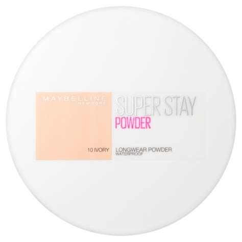 Maybelline Powder morrisons maybelline superstay powder ivory product