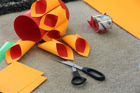 Make A Diwali Paper Lantern - the zing of my diy project how to make a