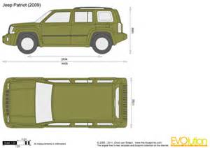 the blueprints vector drawing jeep patriot