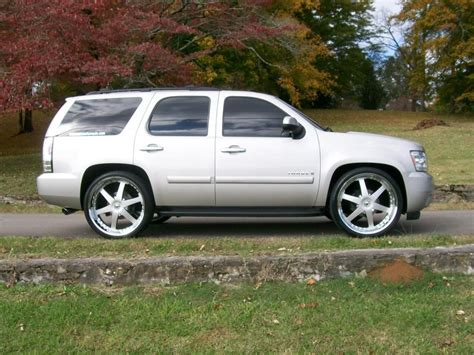 Chevy Tahoe 2007 by 2007 Chevy Tahoe Custom Car Release Date Reviews