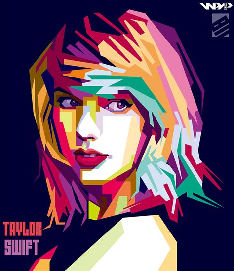 tutorial wpap sketchbook taylor swift wpap by bennadn on deviantart