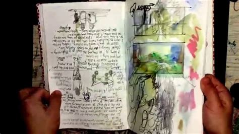 sketchbook flip book tutorial fabriano venice book art sketchbook flip through youtube